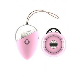 Розовое виброяйцо Isley с пультом ДУ